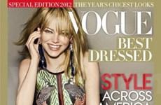 Emma Stone trở thành Nữ hoàng thời trang 2012