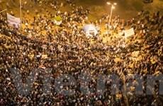 Ai Cập: Biểu tình rầm rộ phản đối tuyên bố hiến pháp