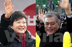 Bầu cử Hàn Quốc: Bà Park Geun-hye tạm dẫn trước