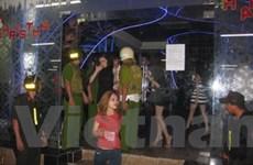 TP.HCM: Thu giữ nhiều thuốc lắc trong quán bar