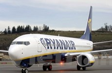 Ryanair nâng dự báo lợi nhuận tài khóa 2012-2013