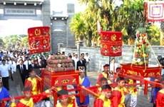 TP.HCM dâng cúng bánh Tét Quốc tổ Hùng Vương