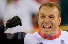 Tay đua sáu lần vô địch Olympic Chris Hoy giải nghệ