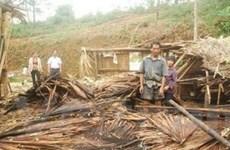 Lốc, mưa đá gây thiệt hại nặng ở Yên Bái, Cao Bằng