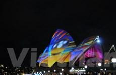 Chùm ảnh lễ hội ánh sáng lớn nhất Nam bán cầu