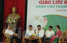 Giao lưu khởi nghiệp cho thanh niên, sinh viên Nghệ An