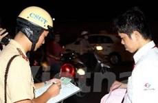 Cảnh sát giao thông bắt giữ 690 đối tượng phạm tội