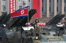Triều Tiên duyệt binh nhân 60 năm ký kết đình chiến