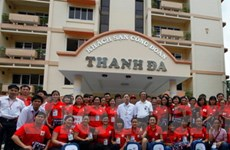 600 đại biểu tham gia Hội trại Chữ thập Đỏ toàn quốc