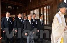 TQ phản đối Bộ trưởng của Nhật thăm đền Yasukuni