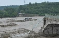 Mưa to do bão Utor tiếp tục xảy ra tại Quảng Đông