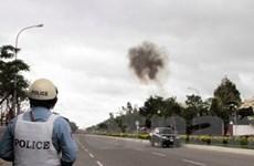 Phát hiện chất nổ trước Tòa nhà Quốc hội Campuchia