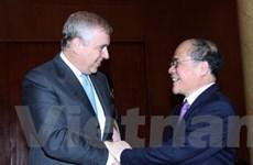 Quan hệ đối tác chiến lược Việt-Anh phát triển sâu rộng