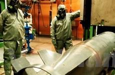 Syria hợp tác đầy đủ về vấn đề giải trừ vũ khí hóa học