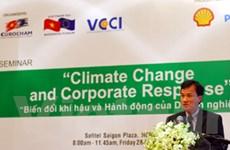 Kết nối doanh nghiệp để chống biến đổi khí hậu
