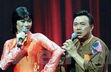 Hoài Linh và Chí Tài diễn hài từ thiện ở Đà Nẵng