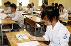 Gần một triệu sỹ tử bắt đầu kỳ thi tốt nghiệp THPT