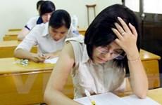 Gần 260.000 thí sinh bắt đầu làm bài thi Cao đẳng
