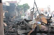1.200 học sinh tiểu học sơ tán khẩn cấp vì cháy