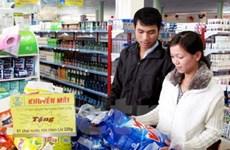 Giá cả hàng hóa biến động không đáng kể