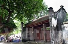 Làng cổ Trích Sài lưu dấu 1.000 năm Thăng Long
