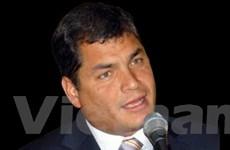 Ecuador muốn khôi phục quan hệ với Colombia