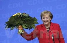 Liên minh của Thủ tướng Đức Merkel thắng cử