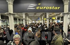 Eurostar sẽ đền bù 16 triệu USD cho hành khách