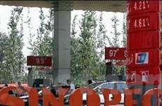 Lợi nhuận Sinopec tăng 14% nhờ giá dầu thô cao