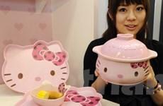 """Biểu tượng hoạt hình mèo Hello Kitty có """"nhà mới"""""""