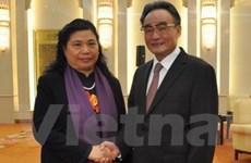 Đoàn đại biểu Quốc hội Việt Nam thăm Trung Quốc