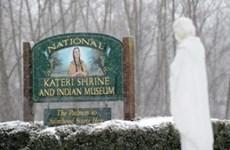 Người thổ dân da đỏ Mỹ đầu tiên được phong thánh