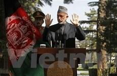 Afghanistan sẽ bầu cử tổng thống vào tháng 4/2014