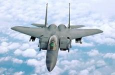 Rơi máy bay chiến đấu F-5 tại vùng biển Arập Xêút