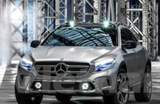 Bức ảnh đầu tiên về mẫu Mercedes-Benz GLA mới