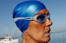 Bà lão 64 tuổi vừa lập kỳ tích bơi từ Cuba sang Mỹ