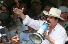 Honduras: Tổng thống bị lật đổ gây áp lực với phe đối lập