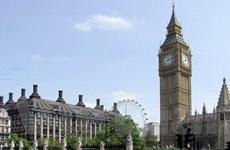 Kinh tế Anh phát tín hiệu về sự phục hồi