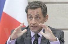 """Tổng thống Pháp bàn về các vấn đề """"nóng"""""""