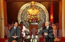 Việt-Trung tăng cường hợp tác giữa 2 quốc hội