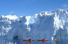 Đón năm mới 2010 tại cực Nam của Trái Đất