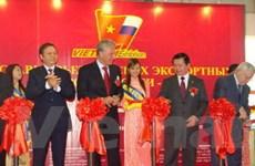 Triển lãm hàng xuất khẩu Việt Nam tại Nga