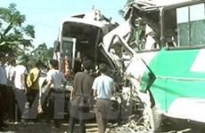 6 người tử vong trong vụ ôtô đối đầu tại Phú Thọ