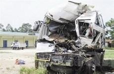 Đã có 8 người chết trong vụ xe khách đâm nhau