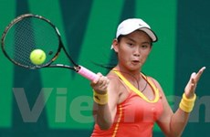 Hơn 100 tay vợt trẻ đọ tài tại giải quốc tế U18