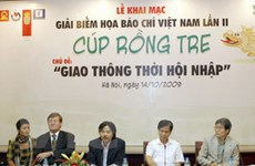 Phát động giải biếm họa báo chí Việt Nam lần II