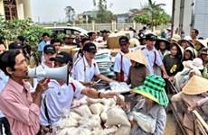 Không có việc cắt xén gạo hỗ trợ tại Quảng Ngãi