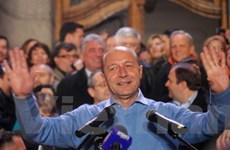 Romania: Đương kim Tổng thống Basescu đắc cử