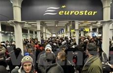 2.000 hành khách bị kẹt trong hầm Channel Tunnel