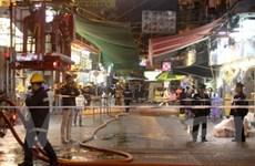 Hongkong bắt giữ kẻ tình nghi tấn công bằng axít